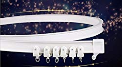 Morningrising 3 Meters Bendable Straight Curved Curtain